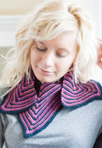 V is for Victory Scarf Pattern