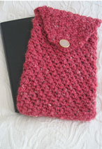 Crocheted eBook Reader Case Pattern