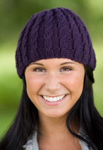 Corinna's Cable Hat Pattern
