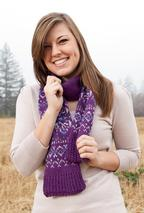 Winter Trifle Scarf Pattern
