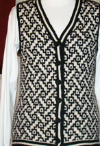 Basketweave Vest  Pattern