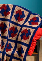 Pinwheel Magic Crochet Blanket Pattern
