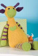 Mango the Giraffe Pattern