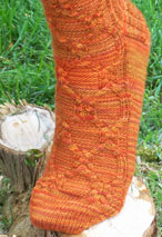 Balmoral Toe Up Socks Pattern