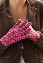 Red Bud Gloves Pattern