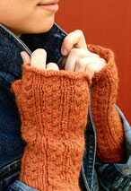 Delicate: Dutch Braids Fingerless Gloves Pattern