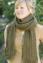 Vineyard Scarf Pattern