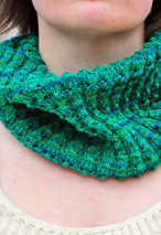 Bluebell Neckwarmer Pattern