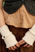 Romantic Fingerless Gloves