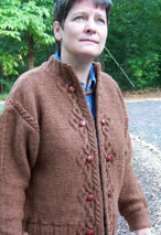 Celtic Closure Cardigan Pattern