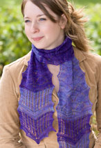 Two-In-One Lace Scarf Pattern