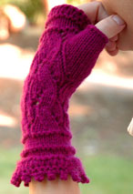 Montmartre Fingerless Gloves Pattern