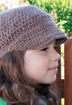 All Ages Newsboy Crochet Cap Pattern