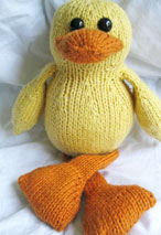 Dudley The Duck Toy Pattern