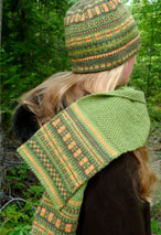 Marina's Hat & Scarf Set Pattern