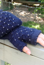 Jaime Fingerless Mitts Pattern