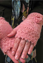 Miss Myrtle Fingerless Mitts Pattern