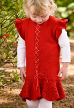 Frilly Lace Child Dress Pattern