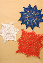 A Trio of Knitted Doilies Pattern