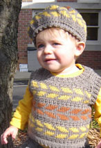 Autumn Steps Child Set Pattern