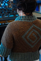 Diamondback Cardigan Pattern