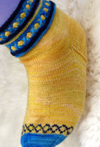 Rosie Socks Pattern