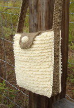 Shaggy Loop Crochet Shoulder Bag Pattern