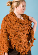 SunRays Crochet Shrug & Shawl Pattern