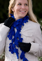 Glen Oaks Lacy Crochet Scarf Pattern