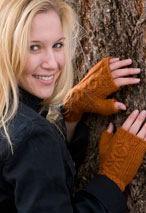 Elegy Fingerless Mitts Pattern