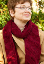Reversible Ribbed Scarf Pattern