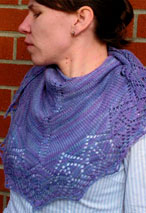 Morning Glory Shawl Pattern