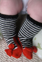 Ruby Slippers Booties Pattern