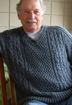 Hugs 'n Kisses Cable Pullover Pattern