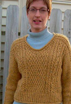 Lucky in Love Cable Pullover Pattern