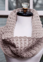 Pavo Knit Lace Cowl Pattern