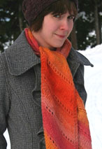 Heidi Mountain Scarf Pattern