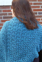 Gentle Rain Shawl Pattern