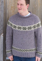 White Clovers Pullover Pattern