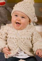 Boys Crochet Sweater & Hat Pattern