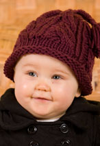 Quick Cabled Hat for All Ages Pattern