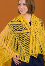 Star Burst Crochet Shawl Pattern