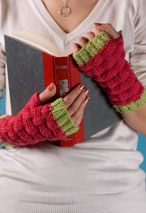 Gretchen Fingerless Mitts Pattern