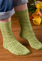 Feelin' Fancy Socks Pattern