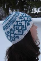 Winter Tracery Hat Pattern
