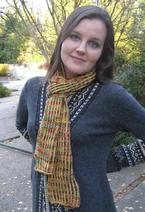 Checkerboard Scarf Pattern