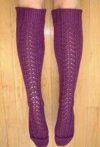 Magic Lace Knee Socks Pattern