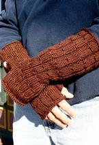 Harvestwood Fingerless Gloves Pattern