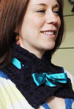 Braided Ribbon Cowl Pattern