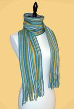 Simply Striped Crochet Scarf Pattern